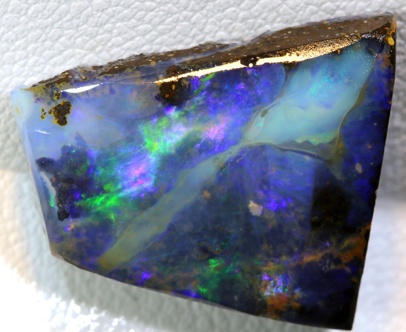 14- CTS  BOULDER OPAL  ROUGH DT-9860