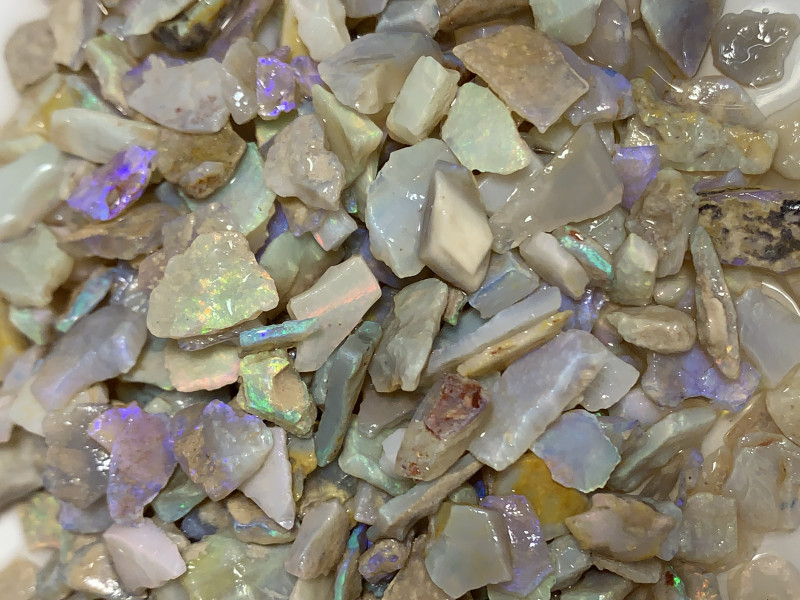 LOVELY CRYSTAL ROUGH; 500 Cts of Rough Opals,#2149