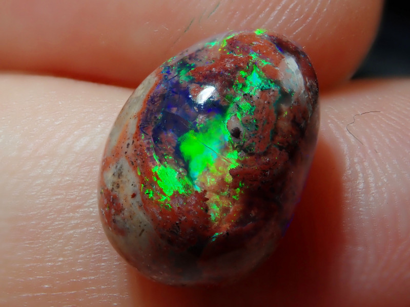 6.46ct. Mexican Matrix Cantera Multicoloured Fire Opal