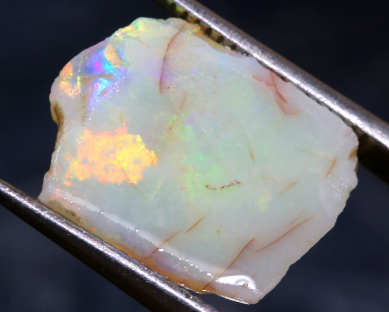 4.25-CTS COOBER PEDY WHITE OPAL ROUGH  DT-A62