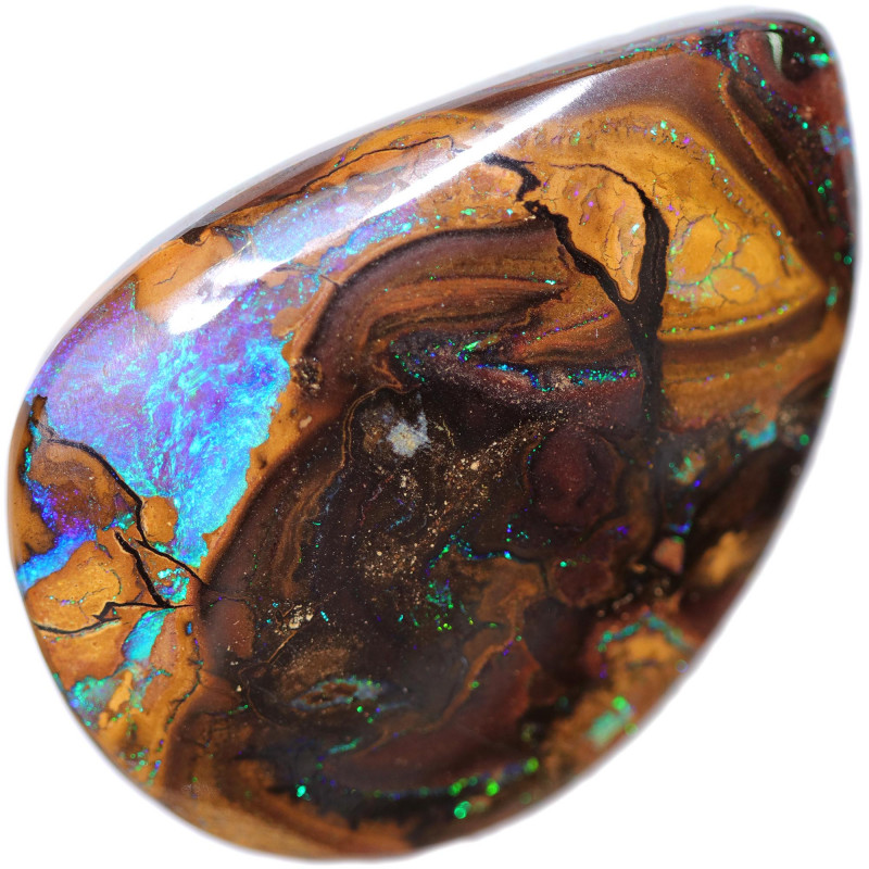 91.41 CTS  MYSTICAL BOULDER OPAL-WELL POLISHED [BMA9210]