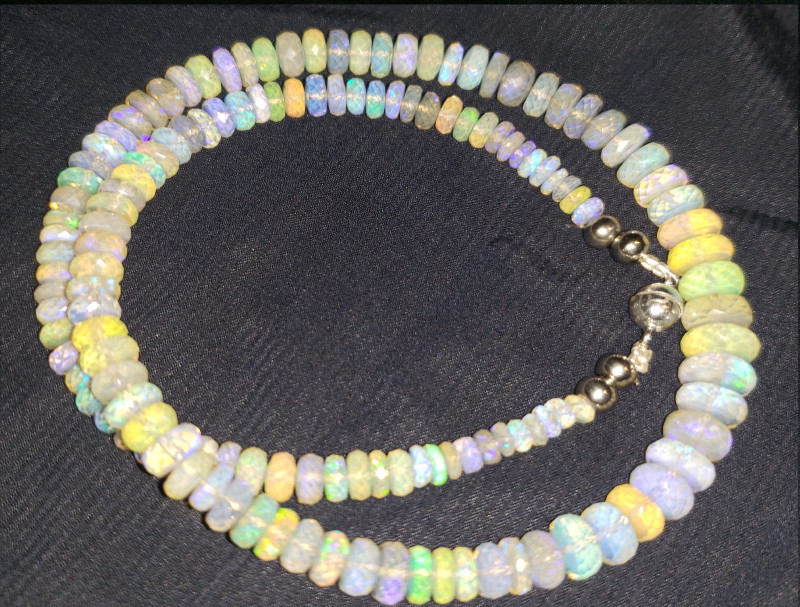 Faceted Opal Beads #11