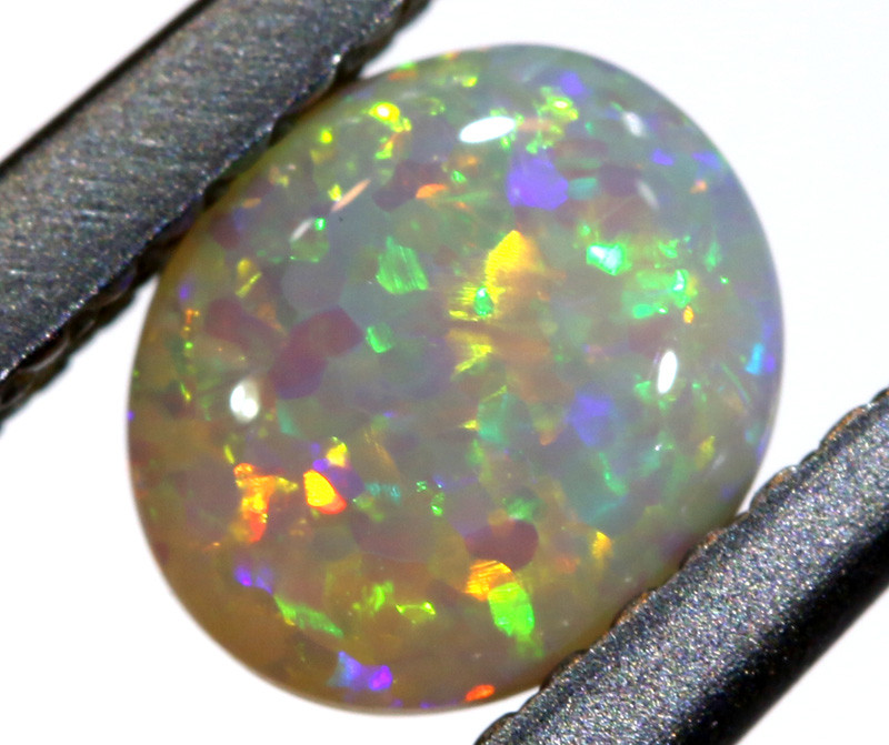 N6- 0.56  CTS - DARK  OPAL POLISHED STONE L. RIDGE  TBO-A207