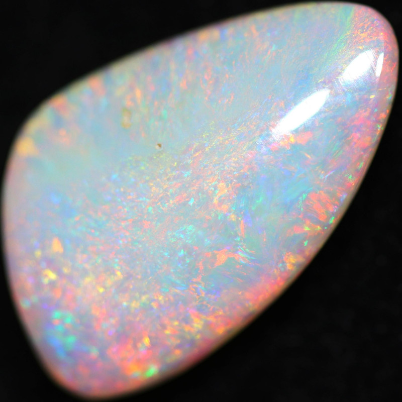 7.48 CTS DOUBLE SIDES BOULDER CRYSTAL OPAL STONE [LRO780]