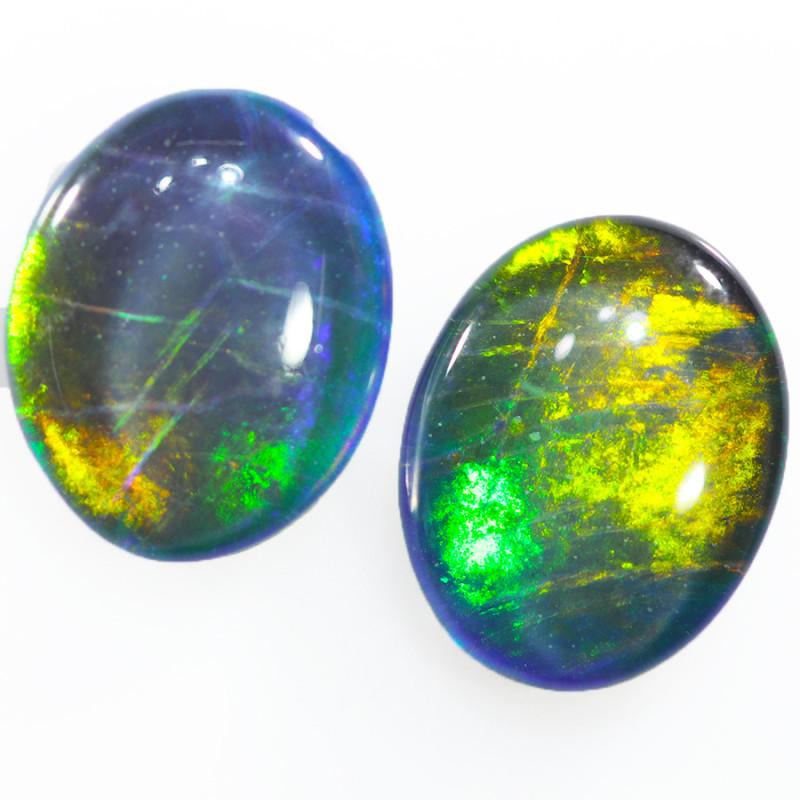 Australian made Fire  Opal Triplet  OPJ 2605