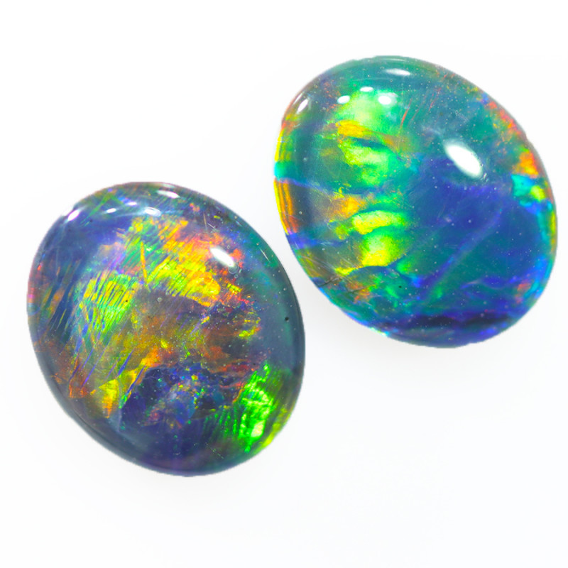 Australian made Fire  Opal Triplet OPJ 2614