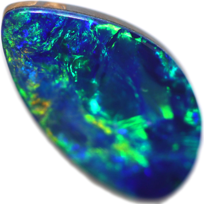 2.56 CTS FREE SHAPED OPAL DOUBLET STONE [SEDA2870]