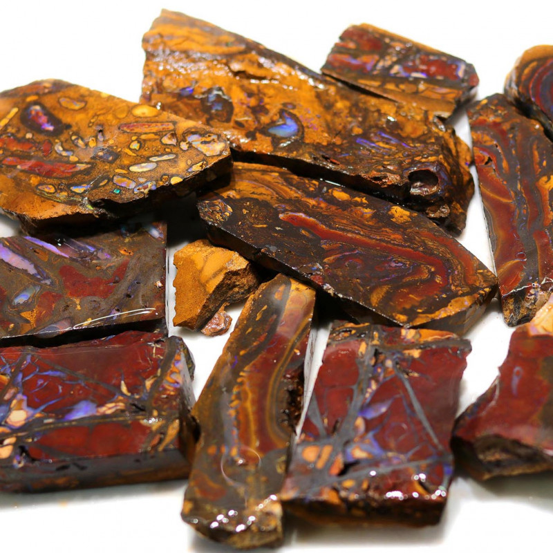 Parcel Boulder Koroit Opal Rubs  WS 1732
