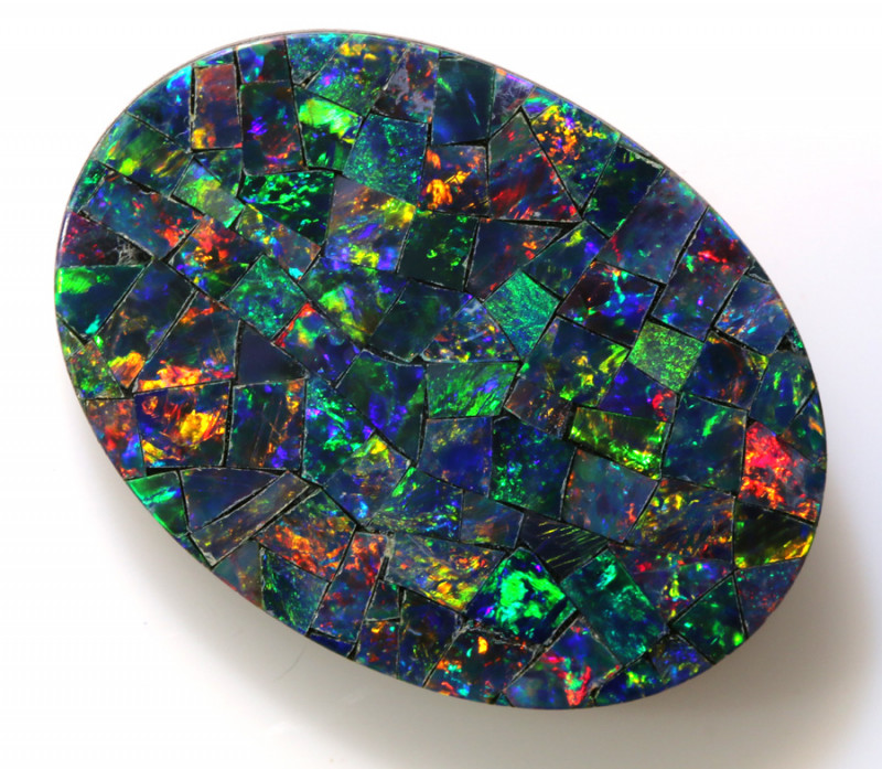 8.75 -CTS  QUALITY MOSAIC  DOUBLET LO-5645
