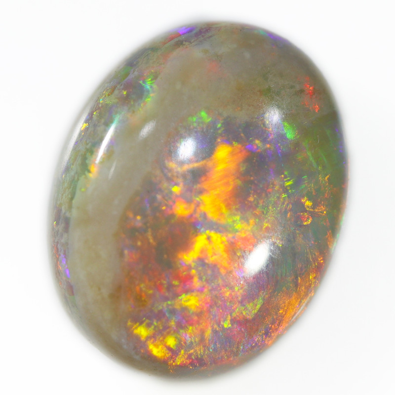 4.35 Cts Deep Fire  Coober pedy  opal  OPJ 2630