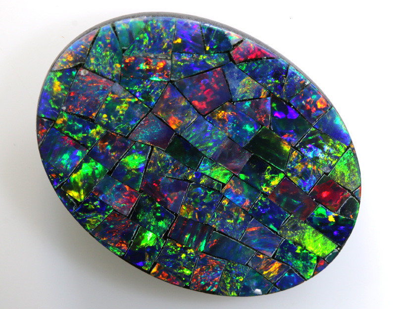 5.80-CTS  QUALITY MOSAIC  DOUBLET LO-5667
