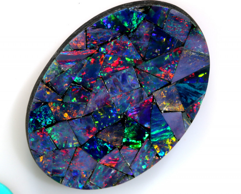 8.85 -CTS  QUALITY MOSAIC  DOUBLET LO-5674