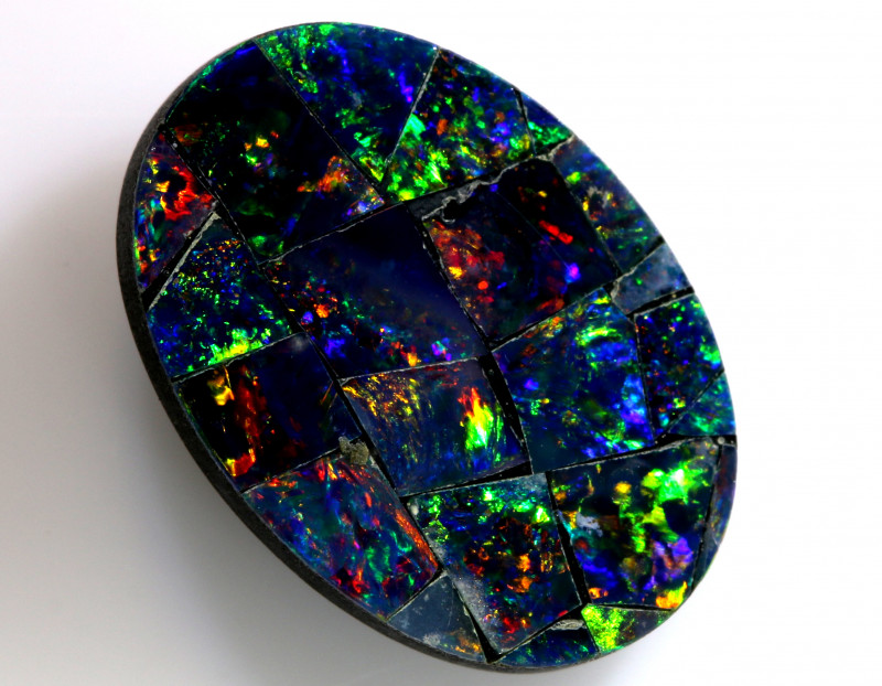 2.70-CTS  QUALITY MOSAIC  DOUBLET LO-5678