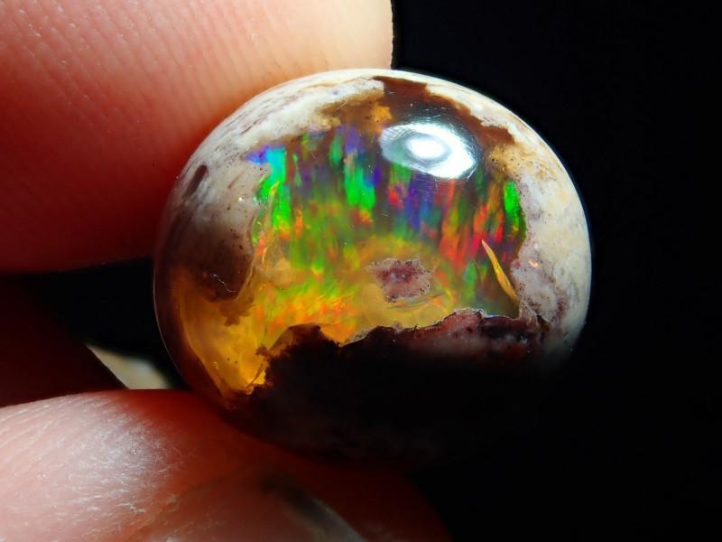 9.84ct. Mexican Matrix Cantera Multicoloured Fire Opal