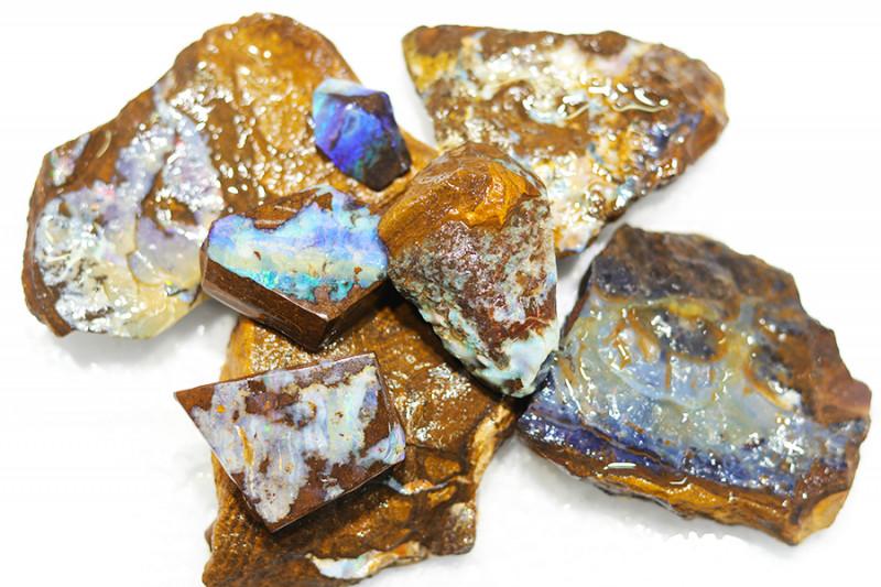 1/2 kilo Parcel Boulder Opal Rough  Rubs  WS 1800