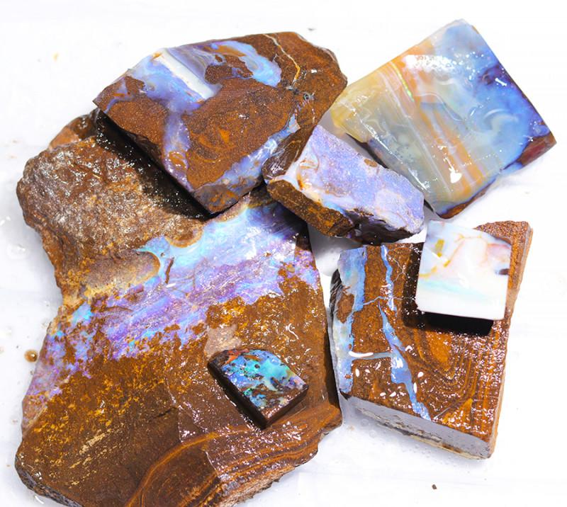1/2 kilo Parcel Boulder Opal Rough  Rubs  WS 1804