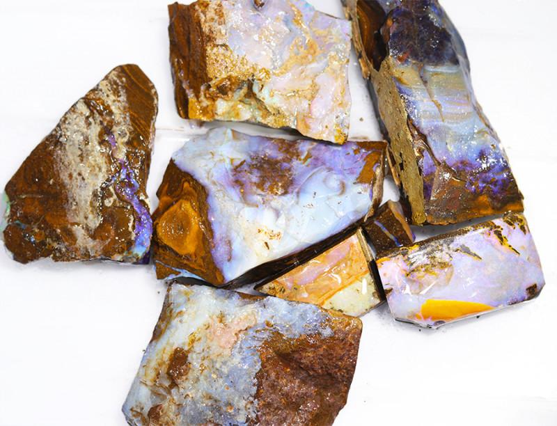 1/2 kilo Parcel Boulder Opal Rough  Rubs  WS 1814