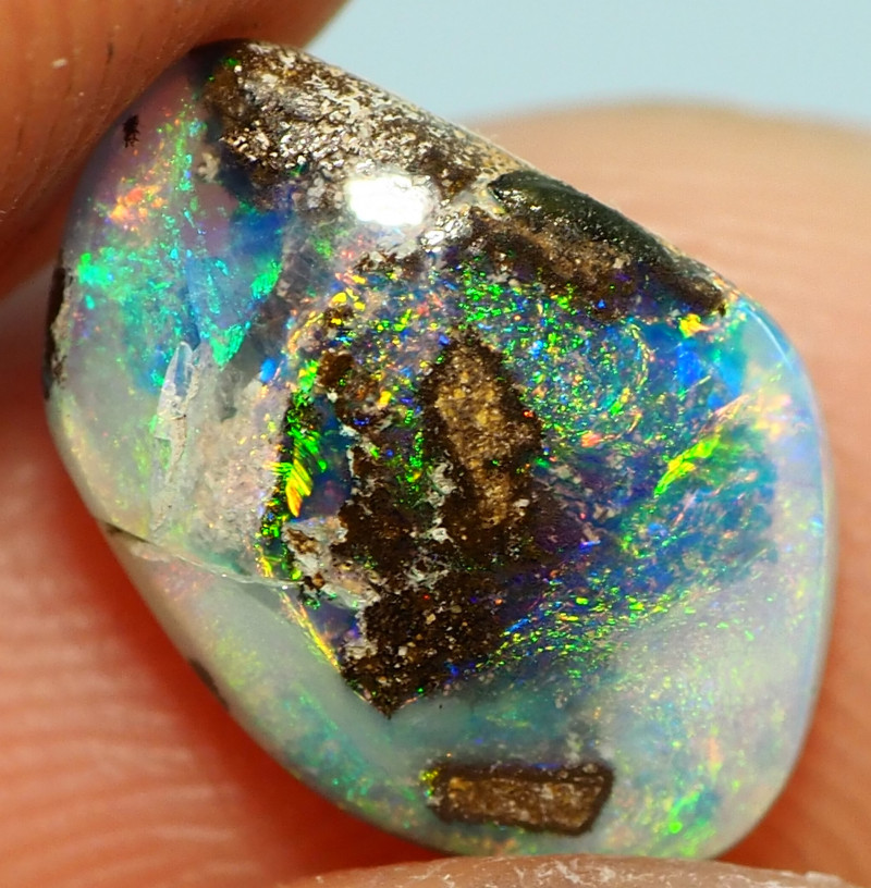 1.90CT WOOD REPLACEMENT BOULDER OPAL ST174