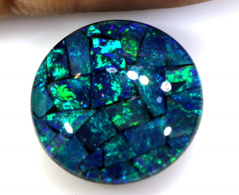 4.80CTS - TOP  QUALITY MOSAIC TRIPLET    LO-5704