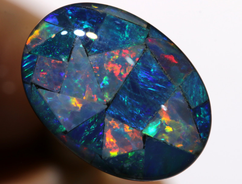 7.40CTS - TOP  QUALITY MOSAIC TRIPLET    LO-5718