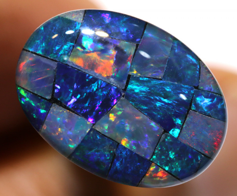 7.40CTS - TOP  QUALITY MOSAIC TRIPLET    LO-5721