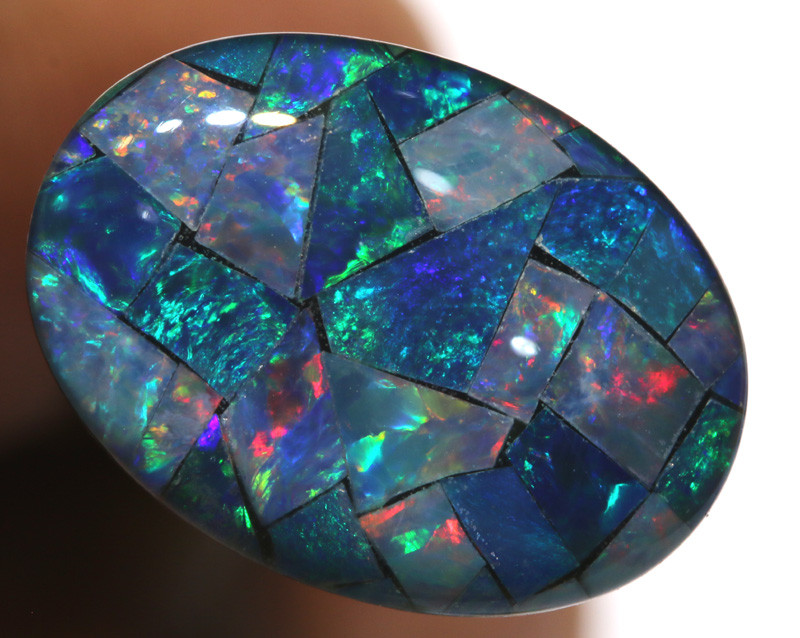 7.40CTS - TOP  QUALITY MOSAIC TRIPLET    LO-5733