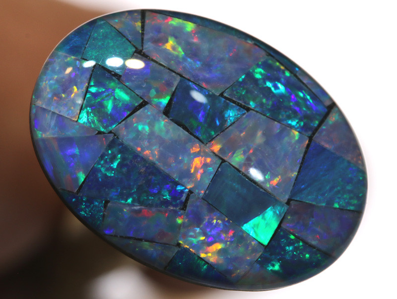 7.40CTS - TOP  QUALITY MOSAIC TRIPLET    LO-5734