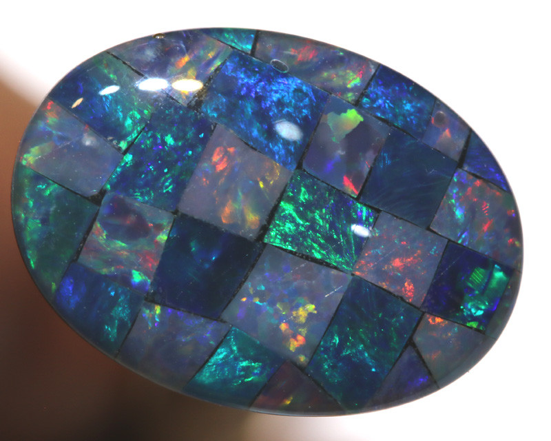 7.40CTS - TOP  QUALITY MOSAIC TRIPLET    LO-5736