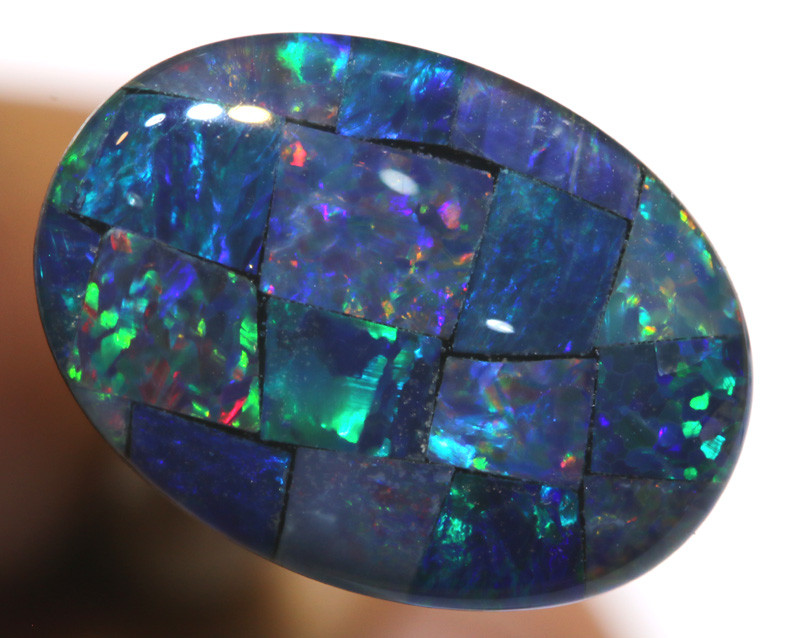 7.40CTS - TOP  QUALITY MOSAIC TRIPLET    LO-5737