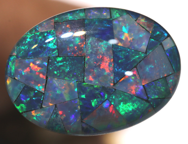 7.40CTS - TOP  QUALITY MOSAIC TRIPLET    LO-5738