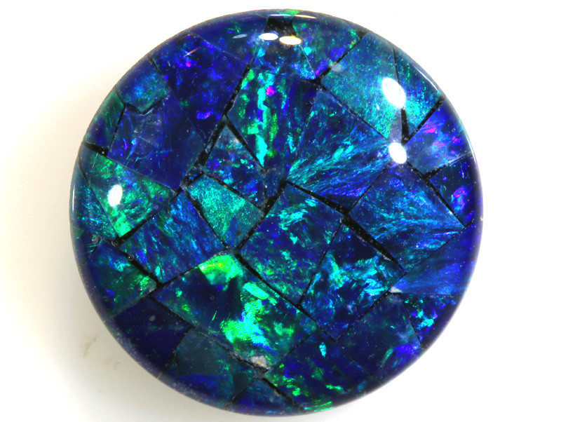 4.60 CTS - TOP  QUALITY MOSAIC TRIPLET    LO-5738