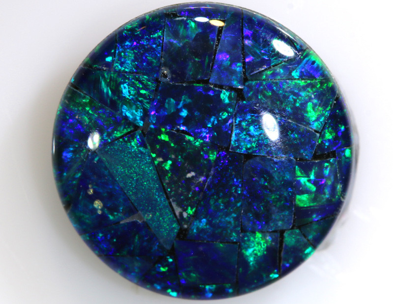 4.60 CTS - TOP  QUALITY MOSAIC TRIPLET    LO-5743