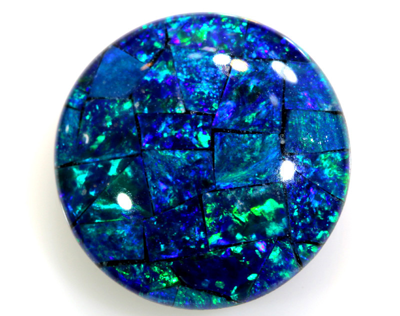 4.60 CTS - TOP  QUALITY MOSAIC TRIPLET    LO-5749