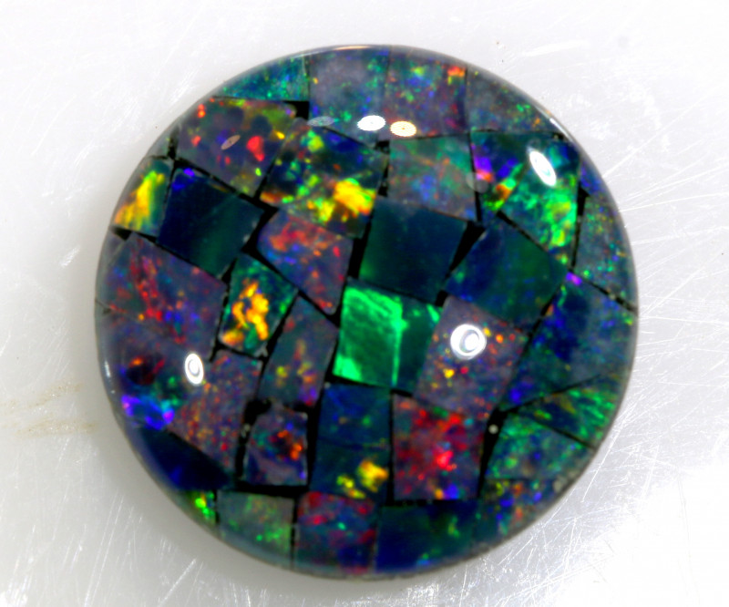 1.95 CTS - A GRADE  QUALITY MOSAIC TRIPLET  LO-5759
