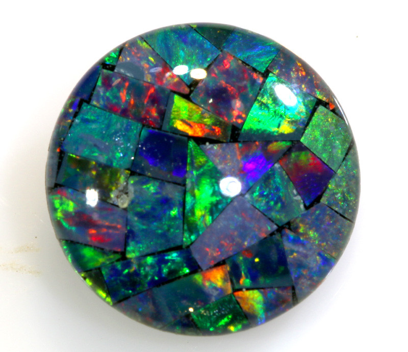 1.95 CTS - A GRADE  QUALITY MOSAIC TRIPLET  LO-5761
