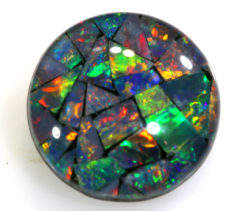 1.95 CTS - A GRADE  QUALITY MOSAIC TRIPLET  LO-5762