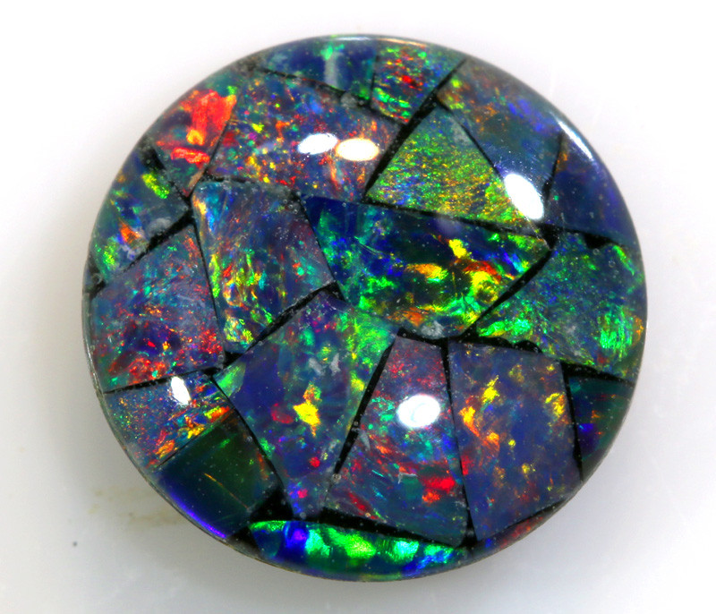 1.95 CTS - A GRADE  QUALITY MOSAIC TRIPLET  LO-5763