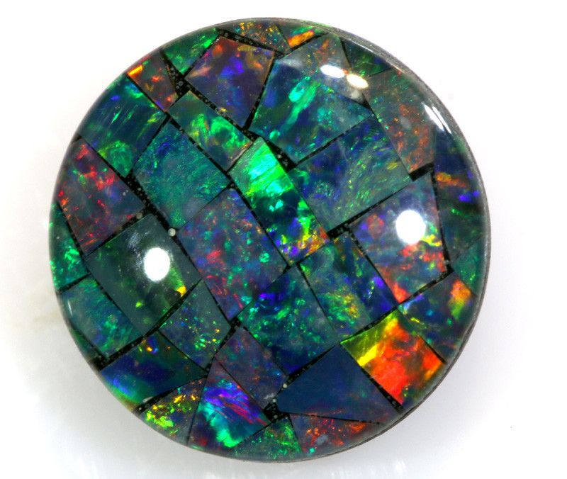 1.95 CTS - A GRADE  QUALITY MOSAIC TRIPLET  LO-5766