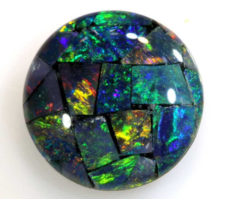 1.95 CTS - A GRADE  QUALITY MOSAIC TRIPLET  LO-5769
