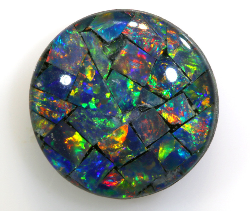 1.95 CTS - A GRADE  QUALITY MOSAIC TRIPLET  LO-5772