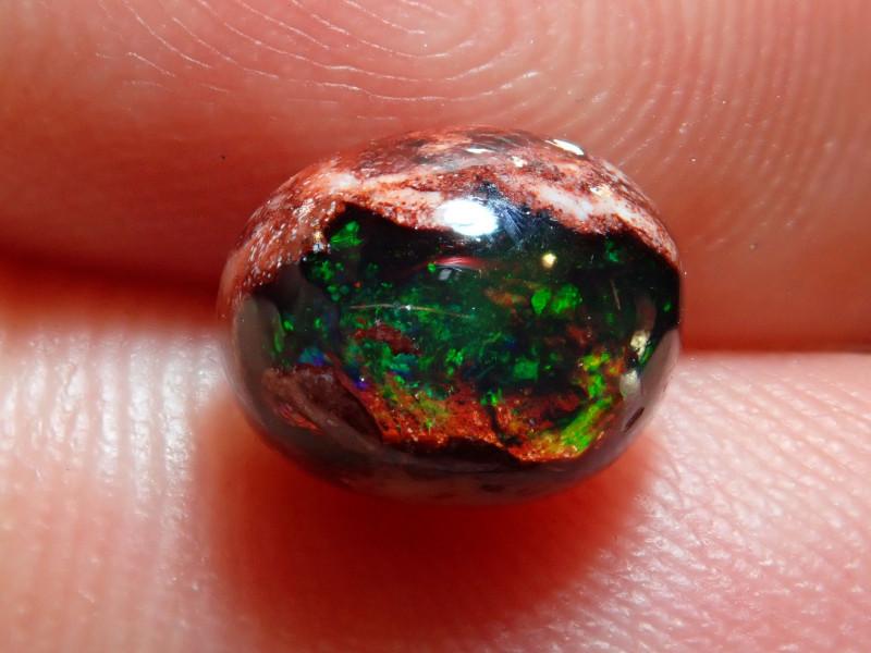 1.51ct Mexican Matrix Cantera Multicoloured Fire Opal