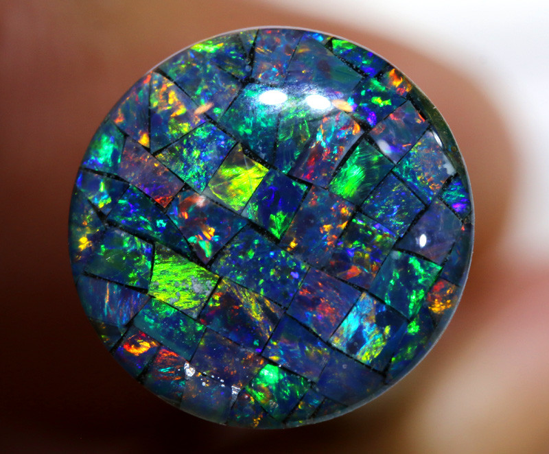 3.80 CTS - A GRADE  QUALITY MOSAIC TRIPLET  LO-5785