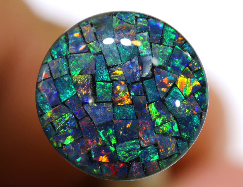 3.80 CTS - A GRADE  QUALITY MOSAIC TRIPLET  LO-5790