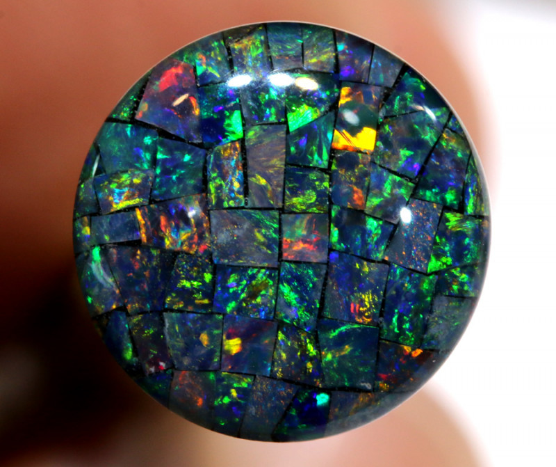 3.80 CTS - A GRADE  QUALITY MOSAIC TRIPLET  LO-5794