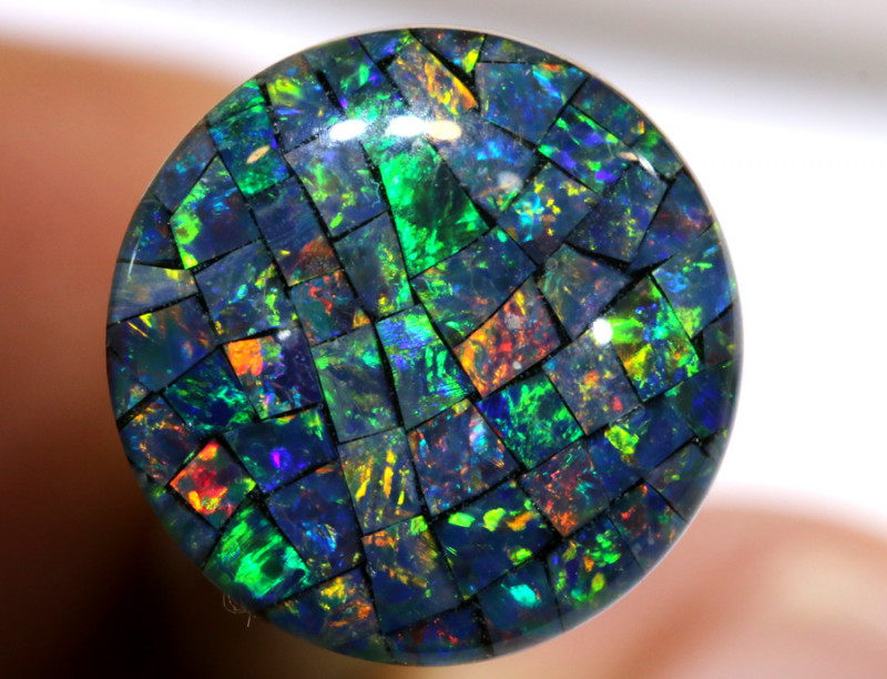 3.80 CTS - A GRADE  QUALITY MOSAIC TRIPLET  LO-5795