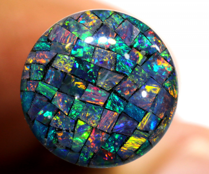 3.80 CTS - A GRADE  QUALITY MOSAIC TRIPLET  LO-5796