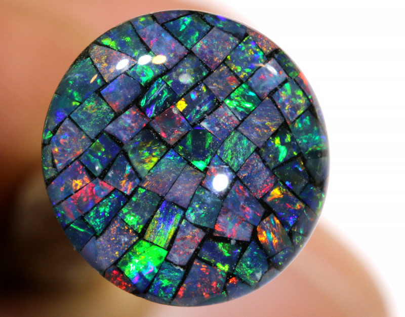 3.80 CTS - A GRADE  QUALITY MOSAIC TRIPLET  LO-5799