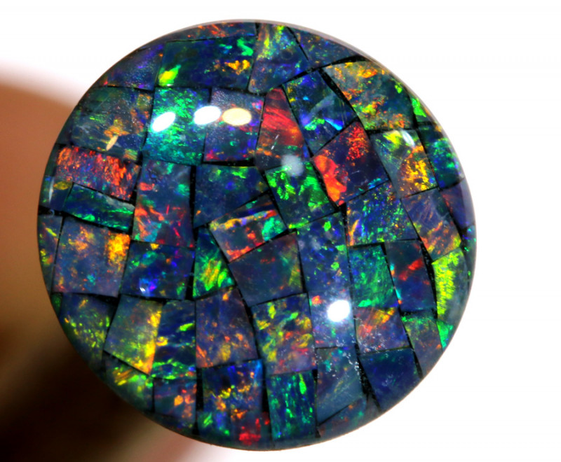 3.80 CTS - A GRADE  QUALITY MOSAIC TRIPLET  LO-5800