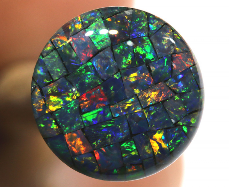 3.80 CTS - A GRADE  QUALITY MOSAIC TRIPLET  LO-5802