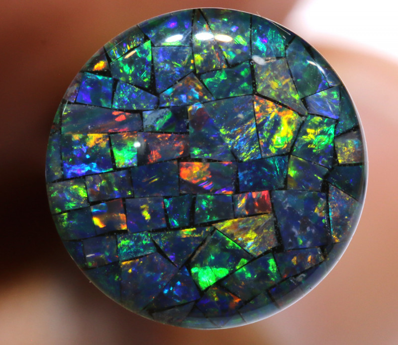 3.80 CTS - A GRADE  QUALITY MOSAIC TRIPLET  LO-5803